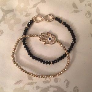 NWOT Francesca's Bracelet set